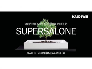 Kaldewei zeigt Superplan Zero beim Supersalone