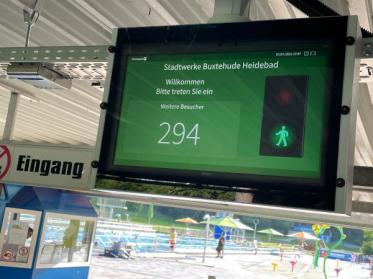 Zutrittsbeschränkungen im Heidebad in Buxtehude mit Checkpoint Systems einfach umgesetzt