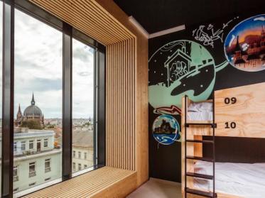 JO&JOE Vienna kombiniert Hostels mit  Komfort, Qualität und Sicherheit eines Hotels