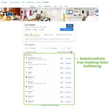 Neue caesar data Anbindung an Google sorgt für mehr Online-Direktbuchungen im Hotel