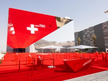 Glatz stattet Schweizer Expo-Pavillon in Dubai aus