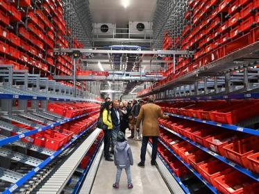 Kröswang eröffnet modernstes Lebensmittel-Frische-Lager der Branche