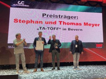 Discotheken-Unternehmerpreis für das Ta-Töff bei Bremervörde