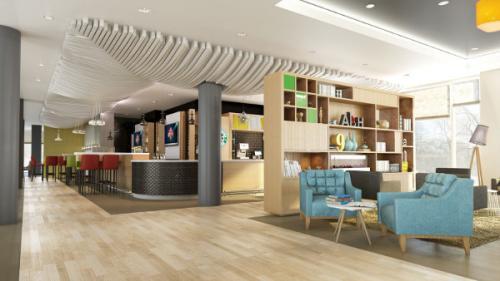 Hotel Interior Design Von Andreas Neudahm Fur Neues Holiday Inn Dusseldorf City Hotelier De