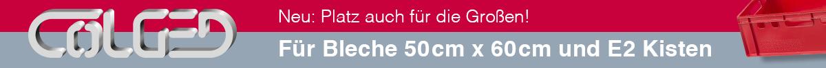 Colged Spülmaschinen - Neu: Auch Platz für die Großen!