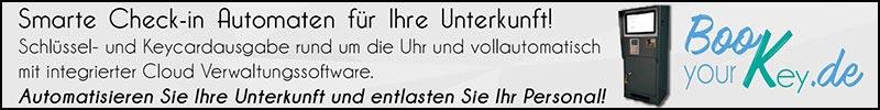 Smarte Check-In Automaten für Ihre Unterkunft - www.book-your-key.de