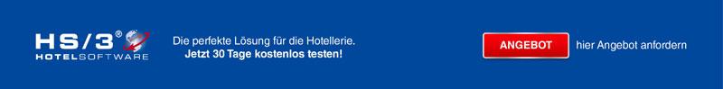 HS/3 Hotelsoftware - Die perfekte Lösung für die Hotellerie - jetzt 30 Tage kostenlos testen!