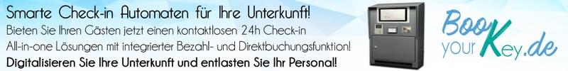 Smarte Check-In Automaten für Ihre Unterkunft von book-your-key.de