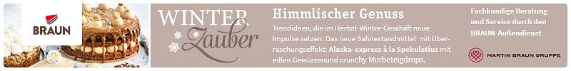 Winterzauber - himmlischer Genuss mit mit Sahnestandmitteln von Martin Braun