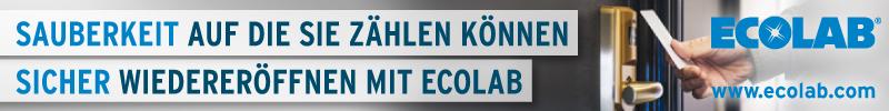Sicher wiedereröffnen mit Ecolab