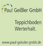 Perfekte Teppichbodenreinigung mit Paul Geißler GmbH