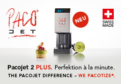Pacojet 2 Plus. Perfektion à la minute.