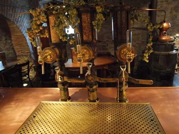 Zapfsäulen Bier