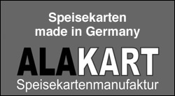 Alakart - Speisekarten Made in Germany