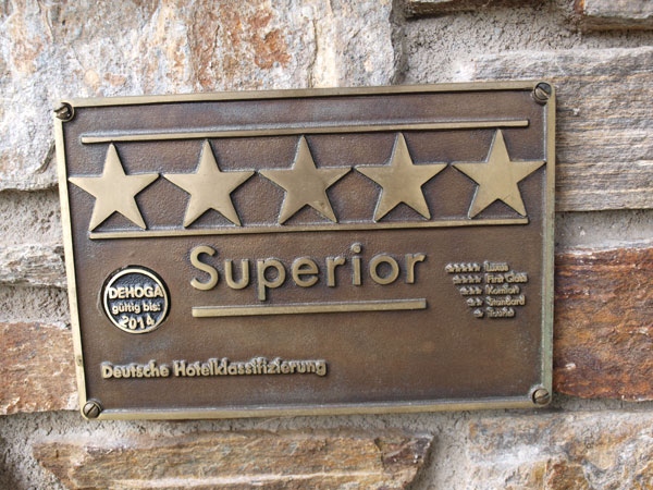 5 Sterne Superior Hotel
