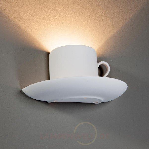gips wandleuchten led bei. Black Bedroom Furniture Sets. Home Design Ideas