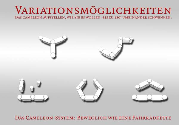 neuvorstellung das cameleon system von horega gastrosysteme gmbh. Black Bedroom Furniture Sets. Home Design Ideas