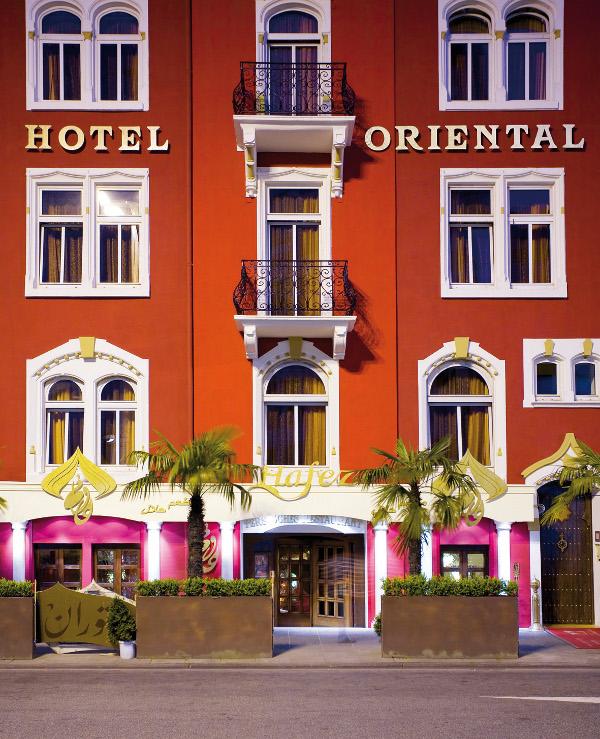 restaurant hafez frankfurt im hotel villa oriental ein. Black Bedroom Furniture Sets. Home Design Ideas