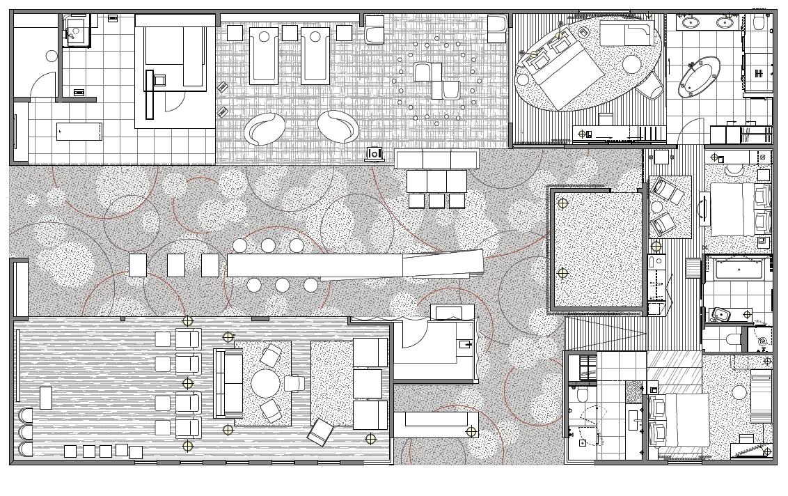 Grundriss Hotelfoyer : Beste hotel ausstattung zur sonderschau fokus auf