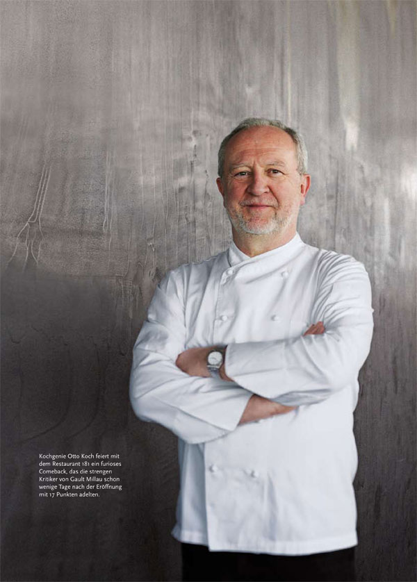 Restaurant 181 first otto koch 39 s kulinarische h henfl ge for Koch stellen