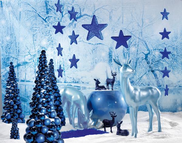 Deko trend weihnachten deko artikel weihnachten - Weihnachtsdeko blau ...