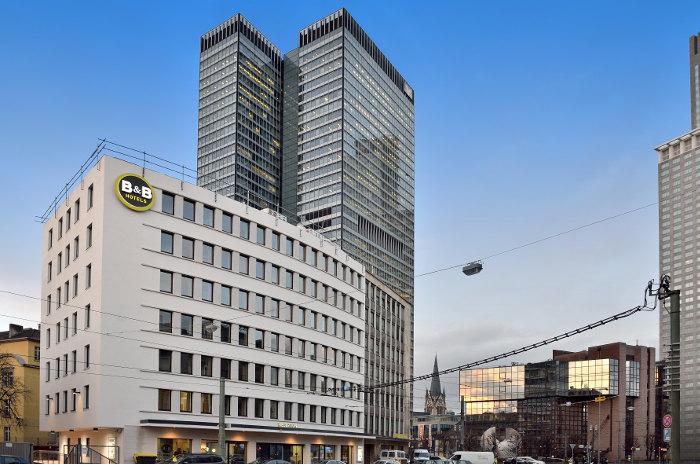 erweiterung b b hotel frankfurt mainzer landstra e. Black Bedroom Furniture Sets. Home Design Ideas