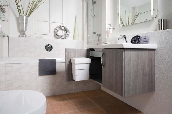 Hailo abfalleimer bad diskret und platzsparend for Poubelle suspendue salle bain