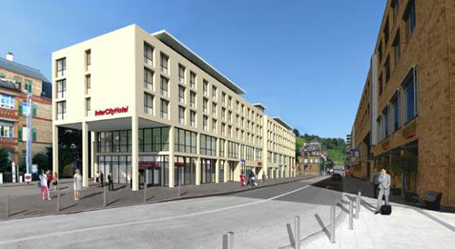 Intercityhotel esslingen er ffnet 2018 for Weiterbildung innendesign