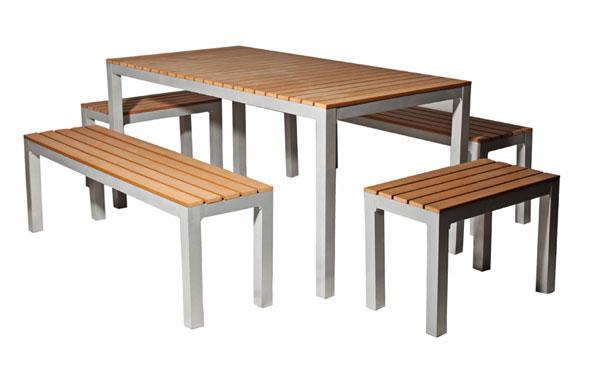 Neue Outdoor Möbel Innovativer Kunststoff Macht Einlagerung
