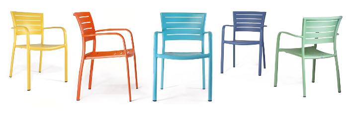 Neue Outdoor Stühle Von May Möbel Hotelierde