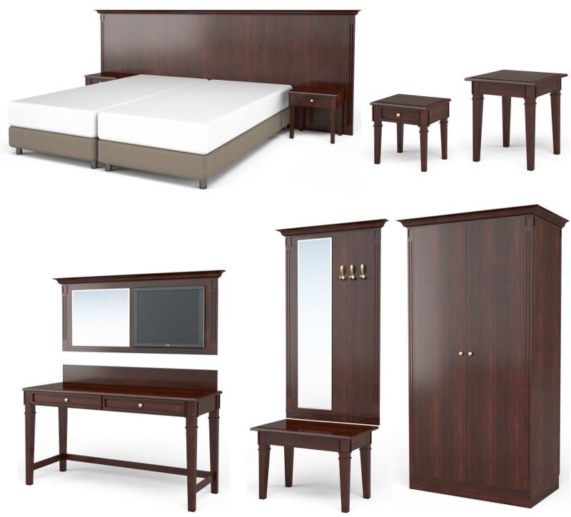 low budget m bel f r hotels mit dem doppelzimmer quadro. Black Bedroom Furniture Sets. Home Design Ideas