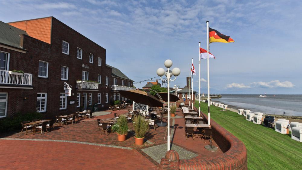 strandhotels seestern und delphin aus wilhelmshaven neu bei akzent. Black Bedroom Furniture Sets. Home Design Ideas