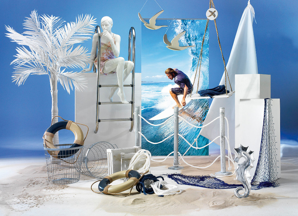 maritime deko ideen wie gef hrliche haideko f r seehotels. Black Bedroom Furniture Sets. Home Design Ideas