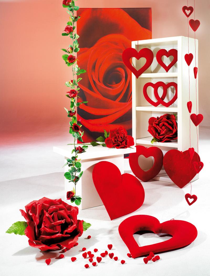 Zeit F R Gef Hle Mit Valentinstag Deko