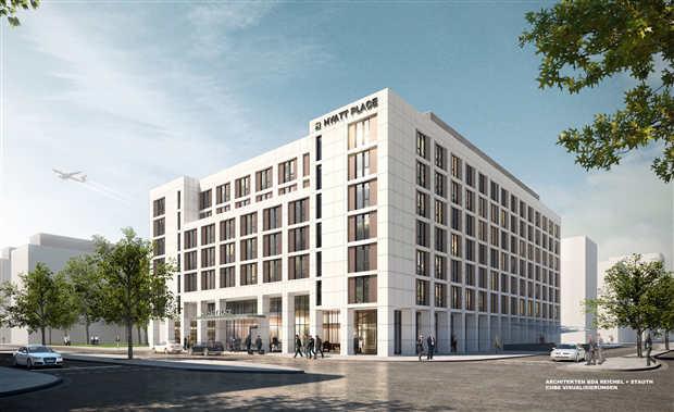 hyatt place frankfurt airport er ffnet. Black Bedroom Furniture Sets. Home Design Ideas