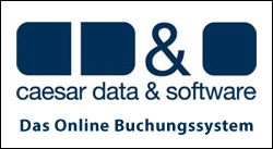 caesar data & software - das Online Buchungssystem