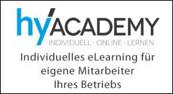 hyAcademy - Individuelles eLearning für eigene Mitarbeiter Ihres Betriebs