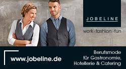 Jobeline - Berufsmode für Gastronomie, Hotellerie & Catering