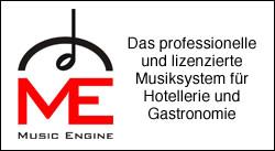 Music Engine - das professionelle und lizenzierte Musiksystem für Hotellerie und Gastronomie