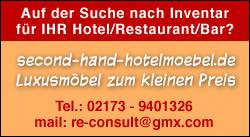 second-hand-hotelmoebel.de - Luxusmöbel zum kleinen Preis