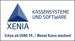 Schon ab 39,00 € / Monat Kasse machen mit Kassensystemen von XENIA