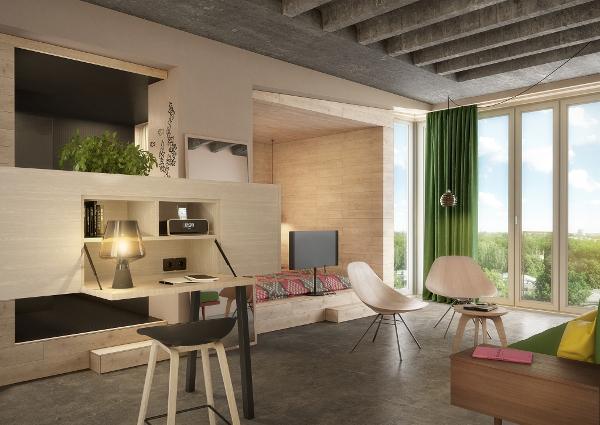 25hours bikini berlin hoteltest zwischen design geschichte und urbanem wohnen mit genuss. Black Bedroom Furniture Sets. Home Design Ideas