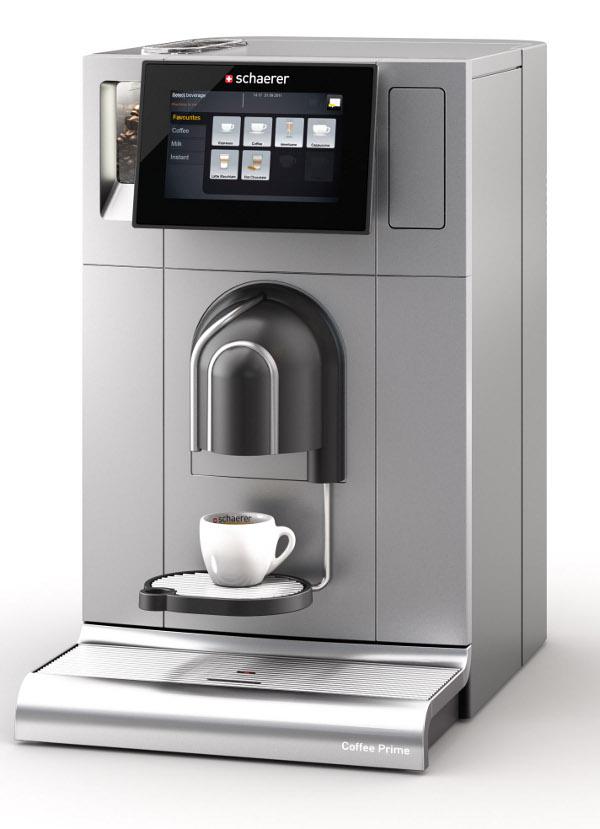 mit starken argumenten an die intergastra neu kaffeevollautomat schaerer coffee prime. Black Bedroom Furniture Sets. Home Design Ideas
