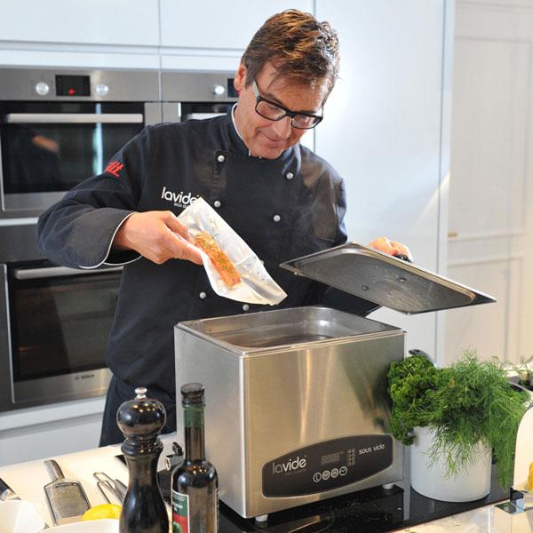 Sous vide niedertemperaturgaren mit lavide eco cuisine for Cuisine sous vide