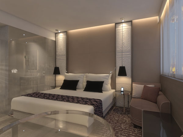 M venpick hotel paris neuilly erstes haus der hotelgruppe for Hotelzimmer design