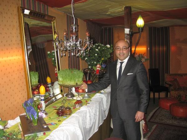 restaurant hafez frankfurt im hotel villa oriental ein genu f r alle sinne. Black Bedroom Furniture Sets. Home Design Ideas