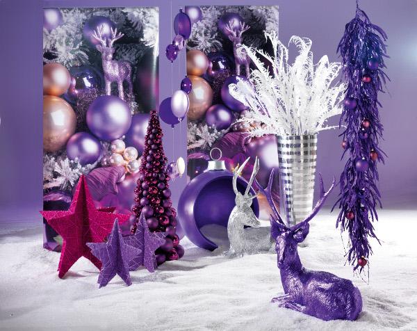Tischdeko weihnachten lila  Deko Trend Weihnachten - Deko Artikel Weihnachten | Hotelier.de
