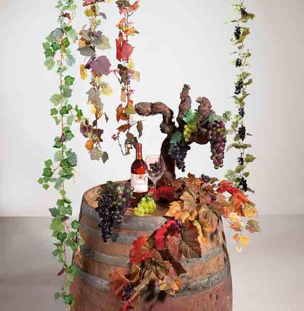 originelle dekoration rund um s wein und oktoberfest