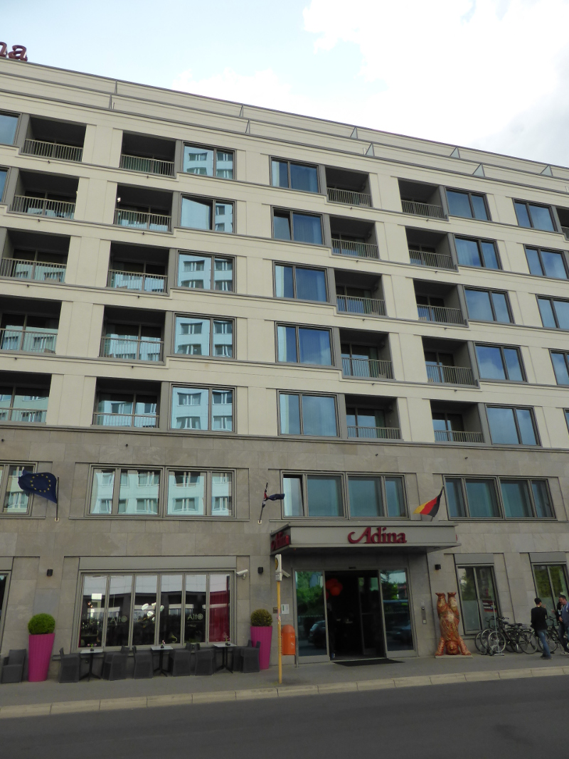 Hotel Adina Berlin Hackescher Markt