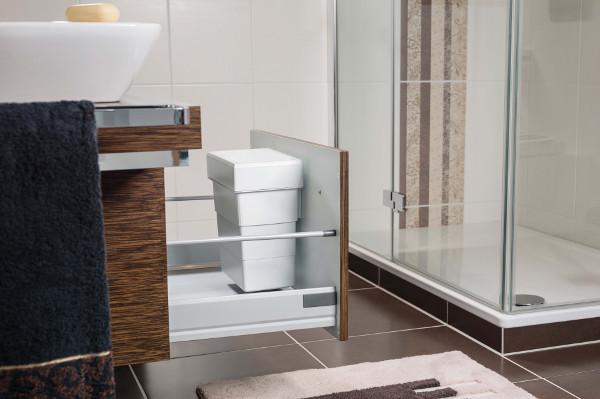 hailo abfalleimer bad diskret und platzsparend. Black Bedroom Furniture Sets. Home Design Ideas